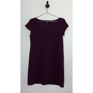 Gap Striped Shift Short Sleeve Dress